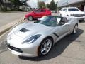 Chevrolet Corvette Stingray Convertible Blade Silver Metallic photo #3