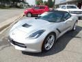 Chevrolet Corvette Stingray Convertible Blade Silver Metallic photo #4
