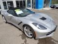 Chevrolet Corvette Stingray Convertible Blade Silver Metallic photo #6