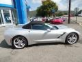 Chevrolet Corvette Stingray Convertible Blade Silver Metallic photo #7