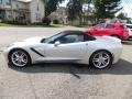 Chevrolet Corvette Stingray Convertible Blade Silver Metallic photo #11