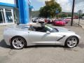 Chevrolet Corvette Stingray Convertible Blade Silver Metallic photo #13