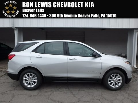 Silver Ice Metallic 2018 Chevrolet Equinox LS AWD