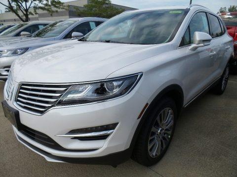White Platinum 2018 Lincoln MKC Reserve AWD