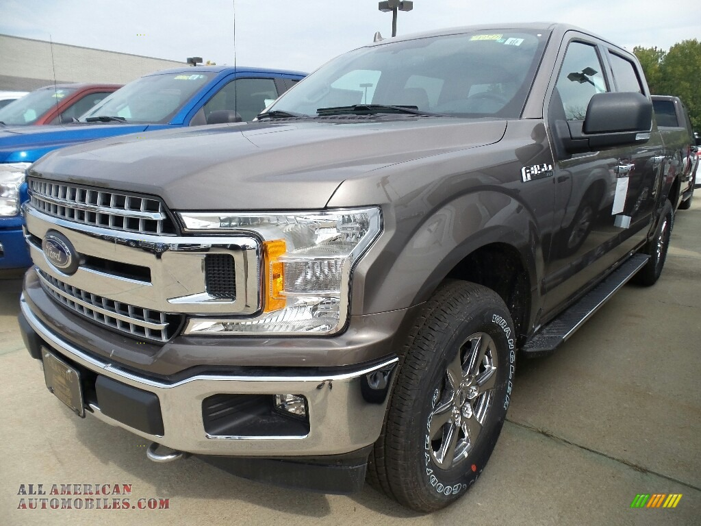 2018 Ford F150 Xlt Supercrew 4x4 In Stone Gray A28968 All American Automobiles Buy
