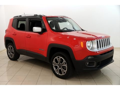 Colorado Red 2016 Jeep Renegade Limited 4x4