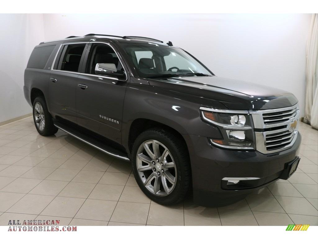 2015 chevrolet suburban ltz 4wd in tungsten metallic 236540 all american automobiles buy. Black Bedroom Furniture Sets. Home Design Ideas
