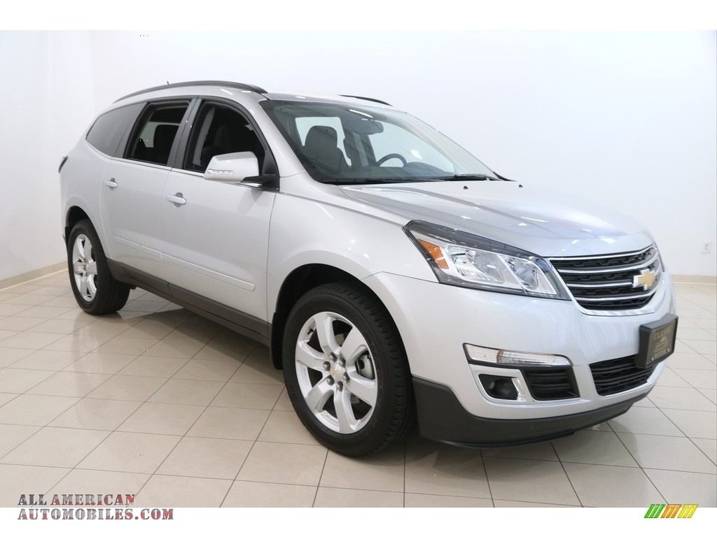 2017 chevrolet traverse lt awd in silver ice metallic 290187 all american automobiles buy. Black Bedroom Furniture Sets. Home Design Ideas