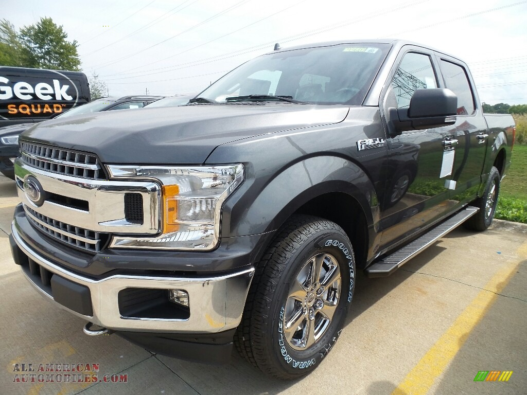 2018 ford f150 xlt supercrew 4x4 in magnetic a59233 all american automobiles buy american. Black Bedroom Furniture Sets. Home Design Ideas
