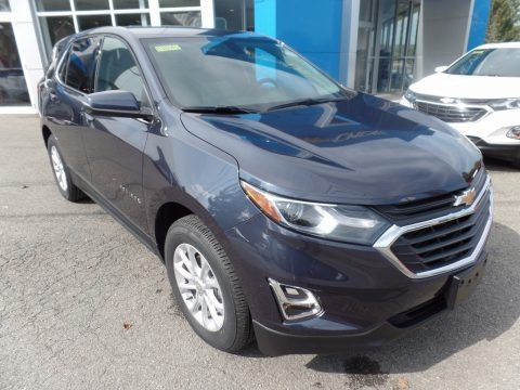 Storm Blue Metallic 2018 Chevrolet Equinox LT AWD