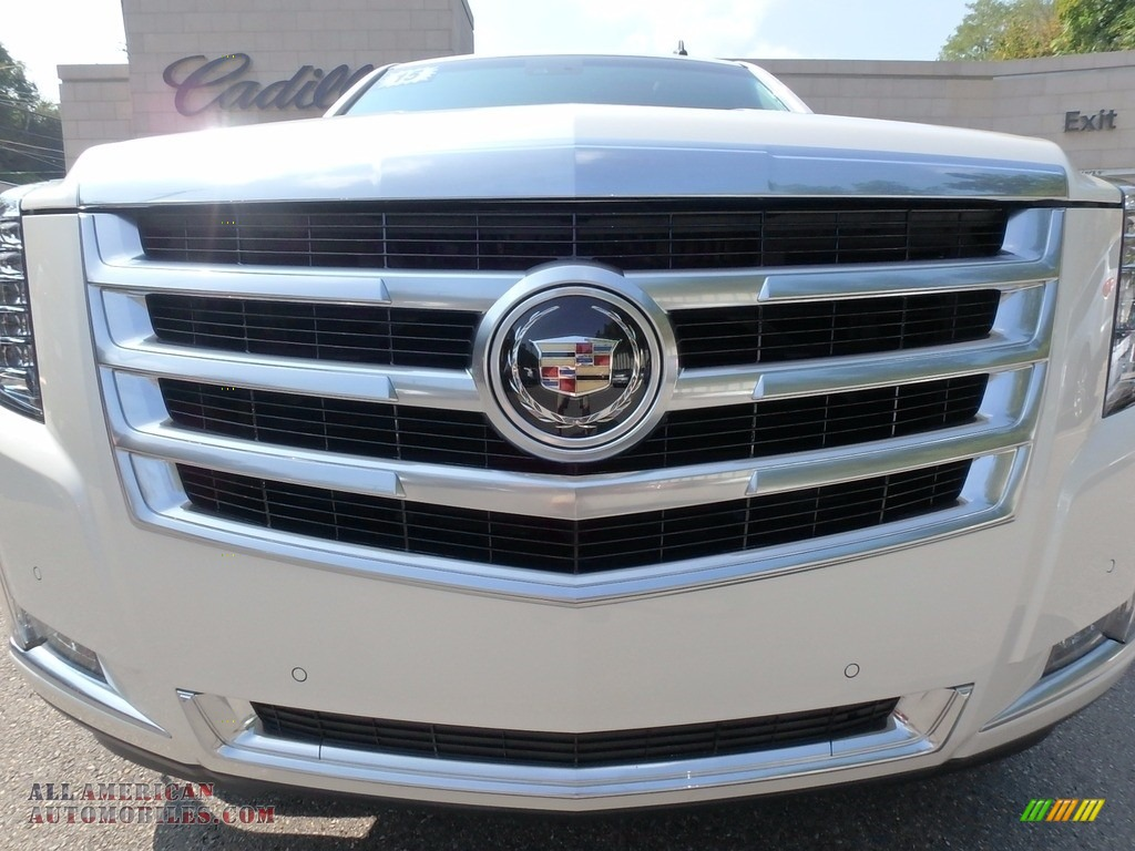 2015 Escalade Premium 4WD - White Diamond Tricoat / Shale/Cocoa photo #9