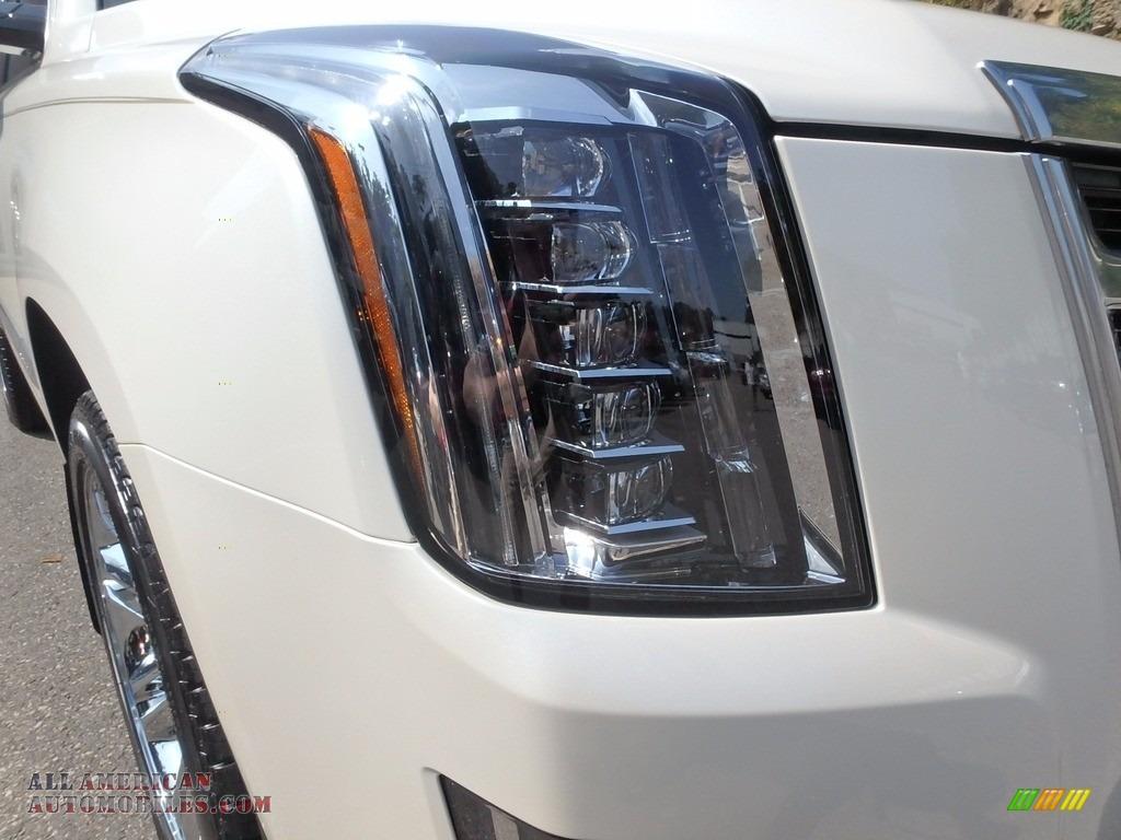 2015 Escalade Premium 4WD - White Diamond Tricoat / Shale/Cocoa photo #10