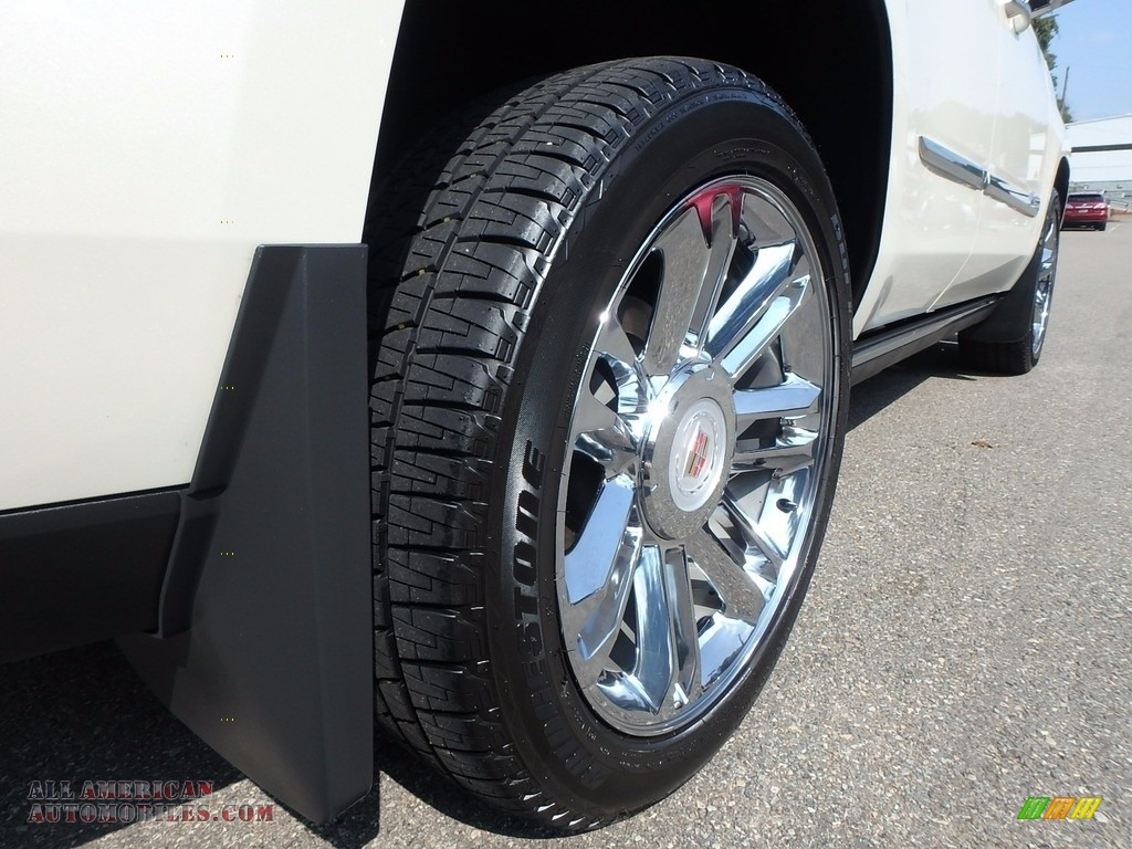 2015 Escalade Premium 4WD - White Diamond Tricoat / Shale/Cocoa photo #12