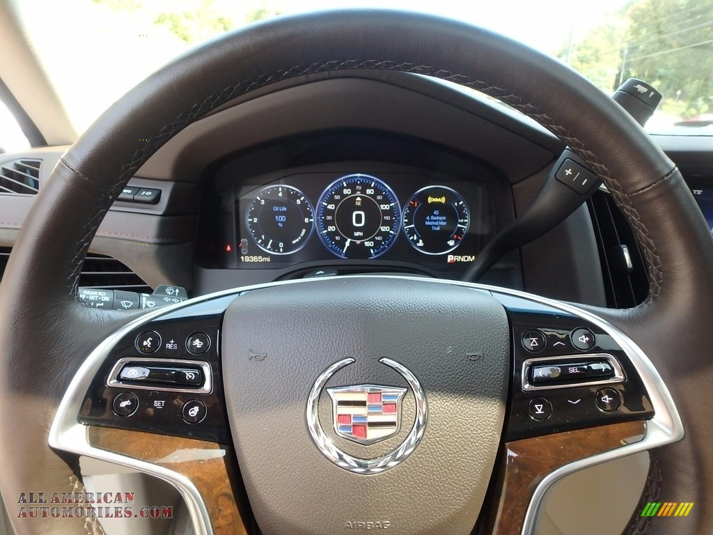 2015 Escalade Premium 4WD - White Diamond Tricoat / Shale/Cocoa photo #15