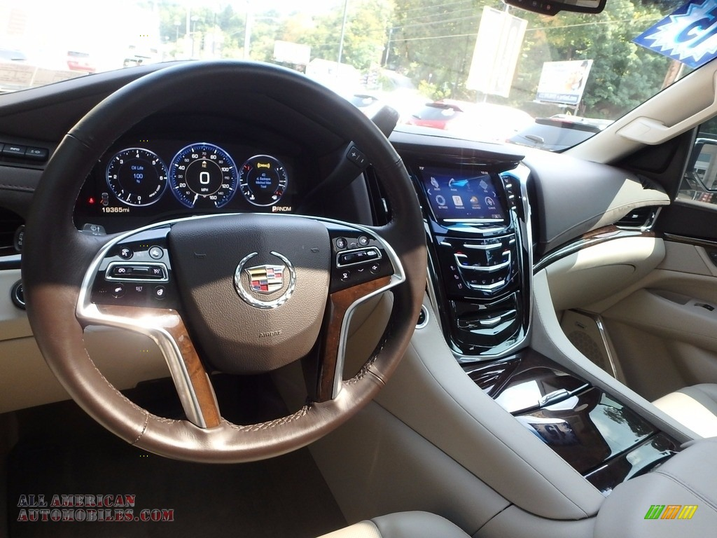 2015 Escalade Premium 4WD - White Diamond Tricoat / Shale/Cocoa photo #16
