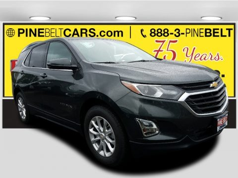 Nightfall Gray Metallic 2018 Chevrolet Equinox LT