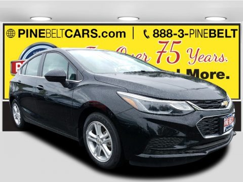 Mosaic Black Metallic 2017 Chevrolet Cruze LT