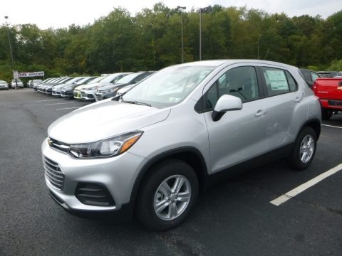 Silver Ice Metallic 2017 Chevrolet Trax LS AWD