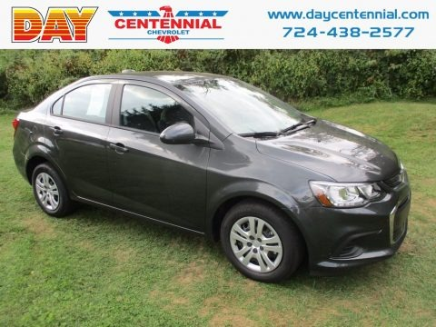 Nightfall Gray Metallic 2017 Chevrolet Sonic LS Sedan