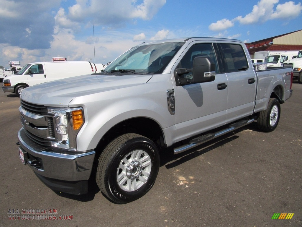 2017 ford f250 super duty xlt crew cab 4x4 in ingot silver c99077 all american automobiles. Black Bedroom Furniture Sets. Home Design Ideas