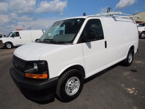 Summit White 2017 Chevrolet Express 2500 Cargo WT