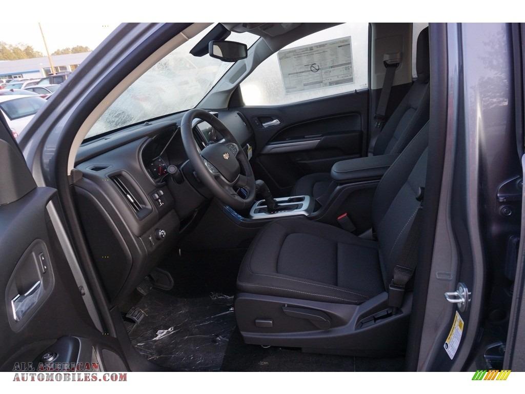 2018 Colorado LT Crew Cab - Satin Steel Metallic / Jet Black photo #9