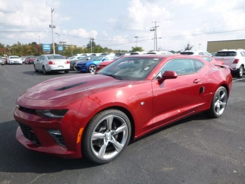 Garnet Red Tintcoat 2018 Chevrolet Camaro SS Coupe
