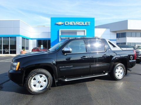 Black 2011 Chevrolet Avalanche LT 4x4