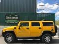Hummer H2 SUV Yellow photo #2