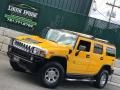 Hummer H2 SUV Yellow photo #3