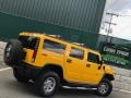 Hummer H2 SUV Yellow photo #5