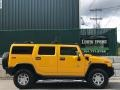 Hummer H2 SUV Yellow photo #6