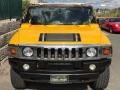 Hummer H2 SUV Yellow photo #7