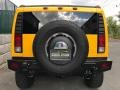 Hummer H2 SUV Yellow photo #8