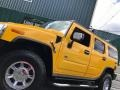 Hummer H2 SUV Yellow photo #20