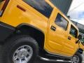 Hummer H2 SUV Yellow photo #21