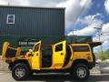 Hummer H2 SUV Yellow photo #42