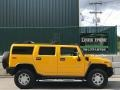 Hummer H2 SUV Yellow photo #102