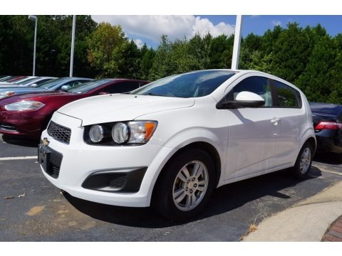 Summit White 2012 Chevrolet Sonic LS Hatch