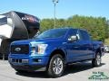 Ford F150 XLT SuperCrew 4x4 Lightning Blue photo #1