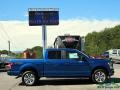 Ford F150 XLT SuperCrew 4x4 Lightning Blue photo #6