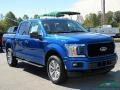 Ford F150 STX SuperCrew 4x4 Lightning Blue photo #7