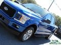 Ford F150 XLT SuperCrew 4x4 Lightning Blue photo #28