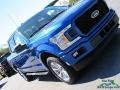 Ford F150 XLT SuperCrew 4x4 Lightning Blue photo #29