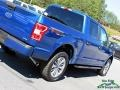 Ford F150 XLT SuperCrew 4x4 Lightning Blue photo #30