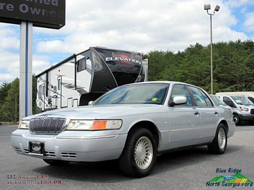 Silver Frost Metallic / Light Graphite Mercury Grand Marquis LS