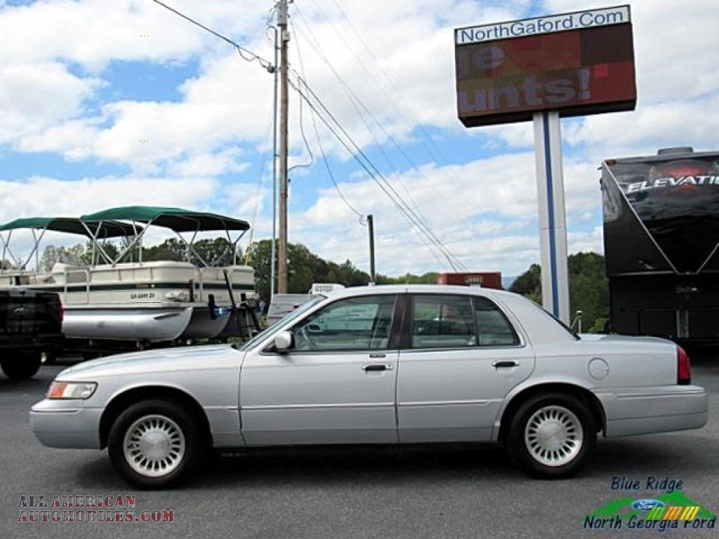 2000 Grand Marquis LS - Silver Frost Metallic / Light Graphite photo #2