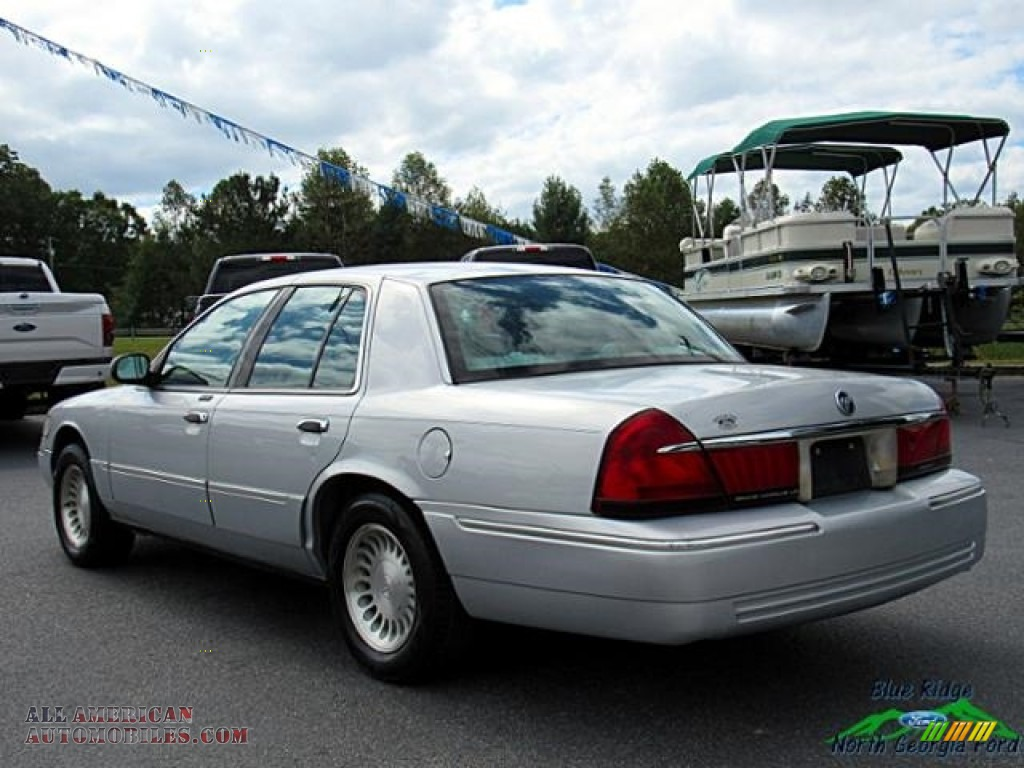 2000 Grand Marquis LS - Silver Frost Metallic / Light Graphite photo #3