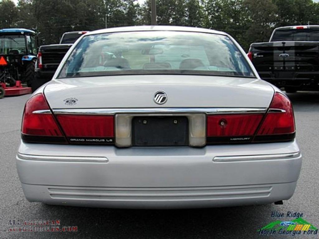 2000 Grand Marquis LS - Silver Frost Metallic / Light Graphite photo #4
