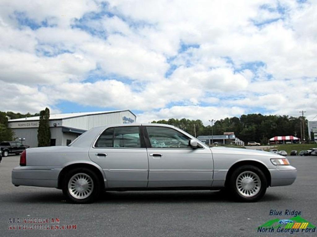 2000 Grand Marquis LS - Silver Frost Metallic / Light Graphite photo #6